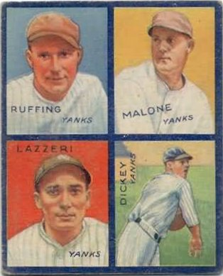 Old Cardboard Vintage Baseball Cards