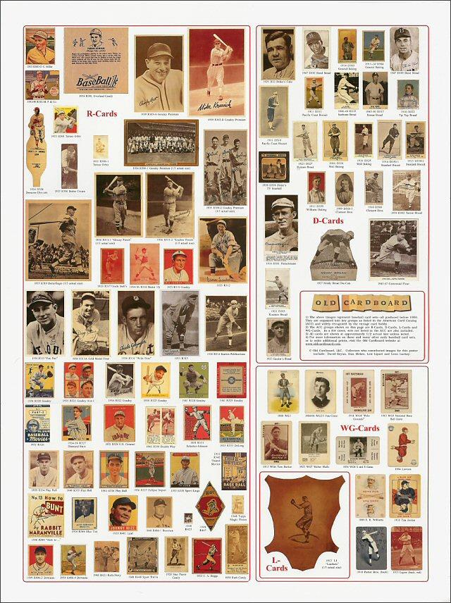 Old Cardboard: Vintage Baseball Cards